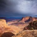 Canyonlands, Break in Storm -10