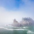 Southern Oregon Coast, Out of the Fog -10